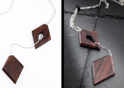 Yoni necklace by Altrosguardo