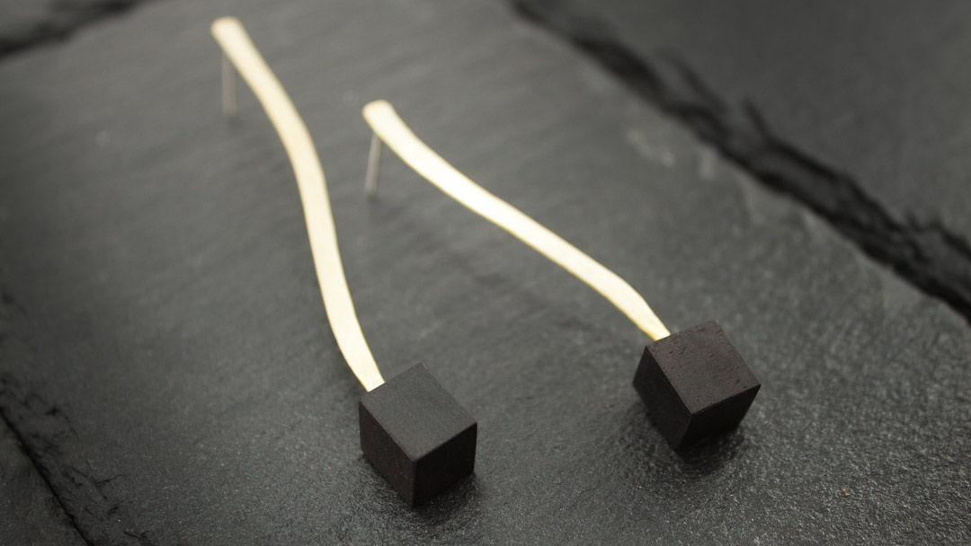 Ramo simple earrings
