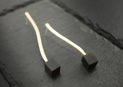 Ramo simple earrings by Altrosguardo