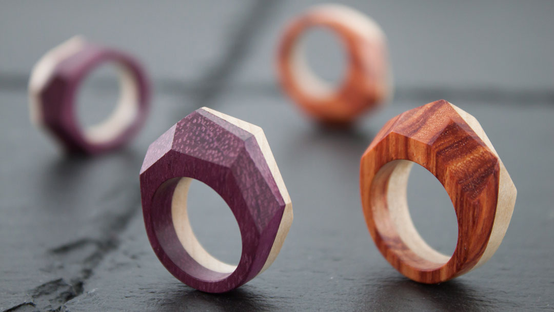 Prisma Bicolor rings