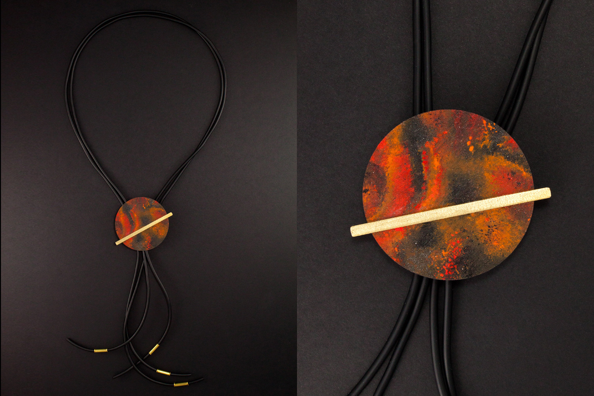 Galileo Marte long necklace by Altrosguardo