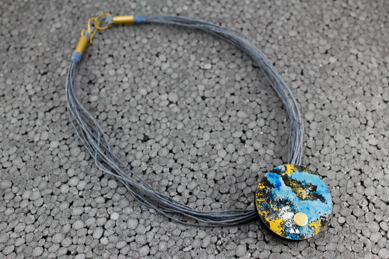 Galileo Terra necklace by Altrosguardo