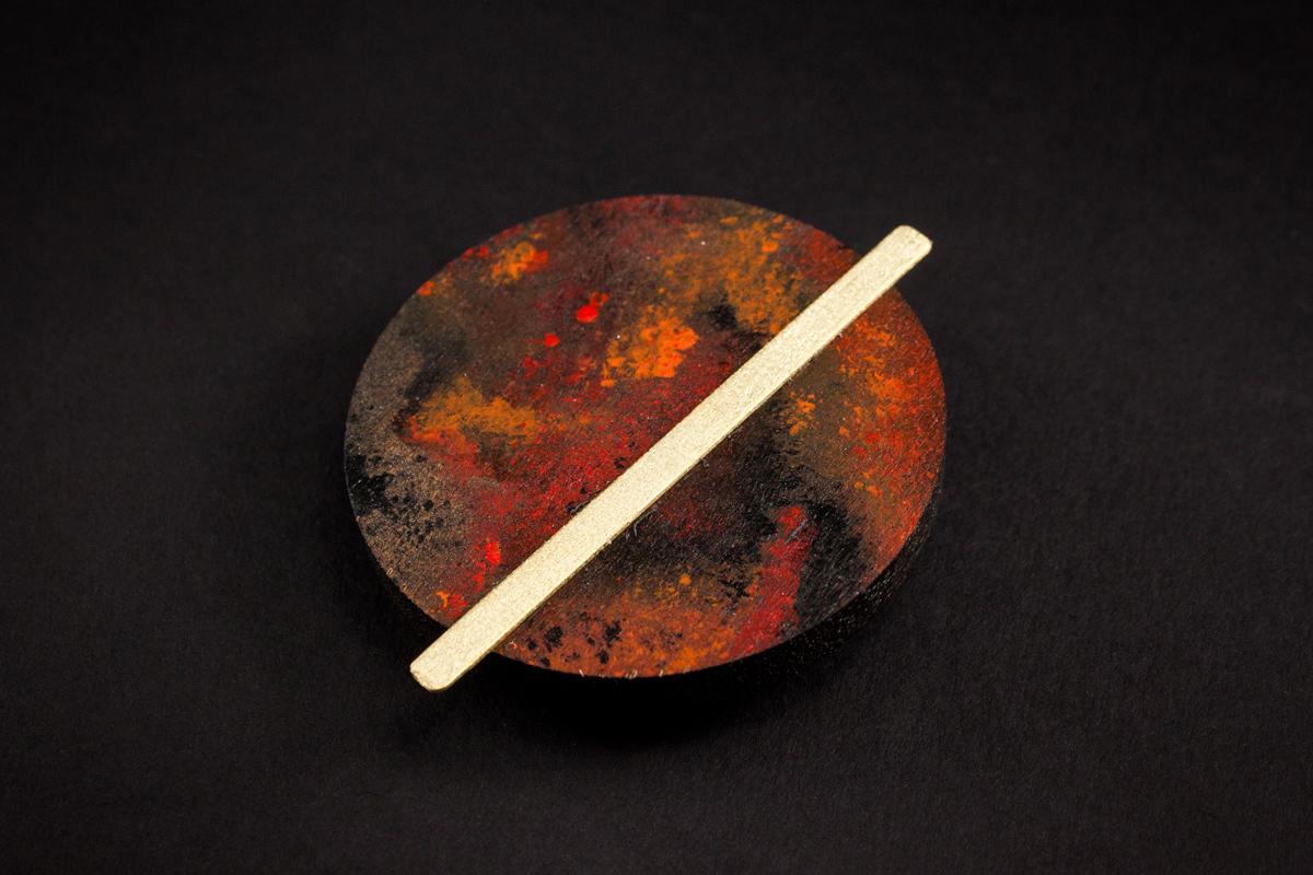 Marte brooch by Altrosguardo