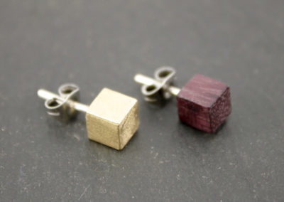 Ramo cube earrings