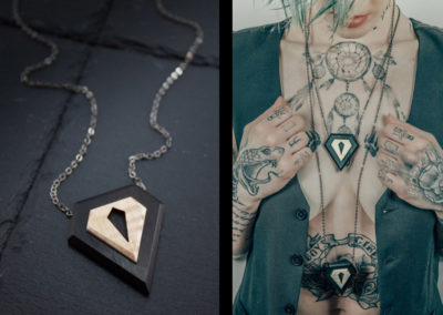 Ego necklace by Altrosguardo