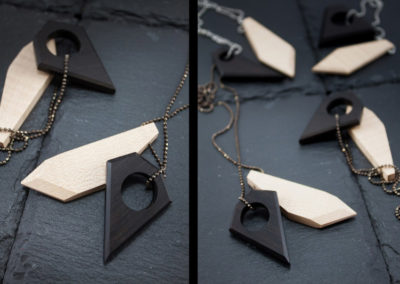 Hoben necklaces by Altrosguardo
