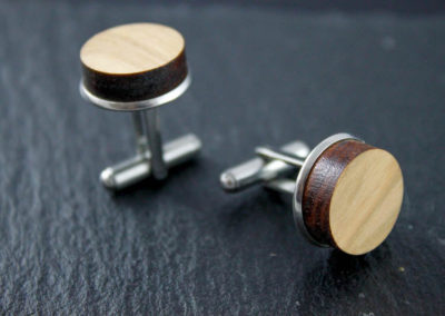 Twins cufflinks by Altrosguardo