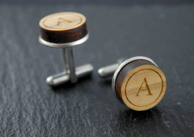 Twins cufflinks custom by Altrosguardo