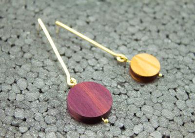 Asteria earrings by Altrosguardo