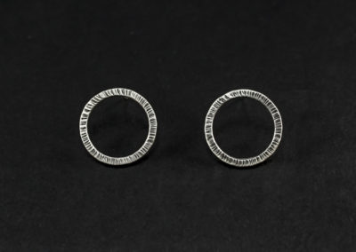 Altrosguardo Aurora lobo round earrings
