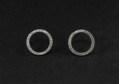 Altrosguardo Aurora lobe round earrings