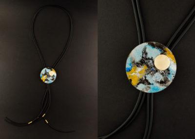 Galileo Terra long necklace by Altrosguardo