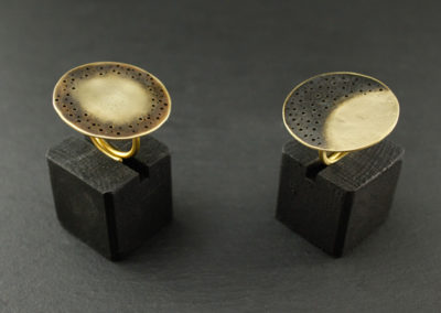 """Obscuro rings """"Sun"""" & """"Moon"""""""
