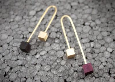 Ramo double earrings