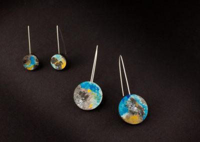 Terra earrings by Altrosguardo